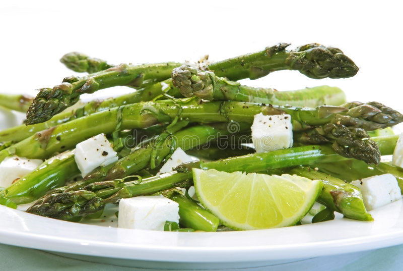 Salade d'asperge photo libre de droits