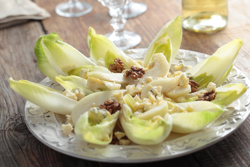 Salade d'endive photos stock