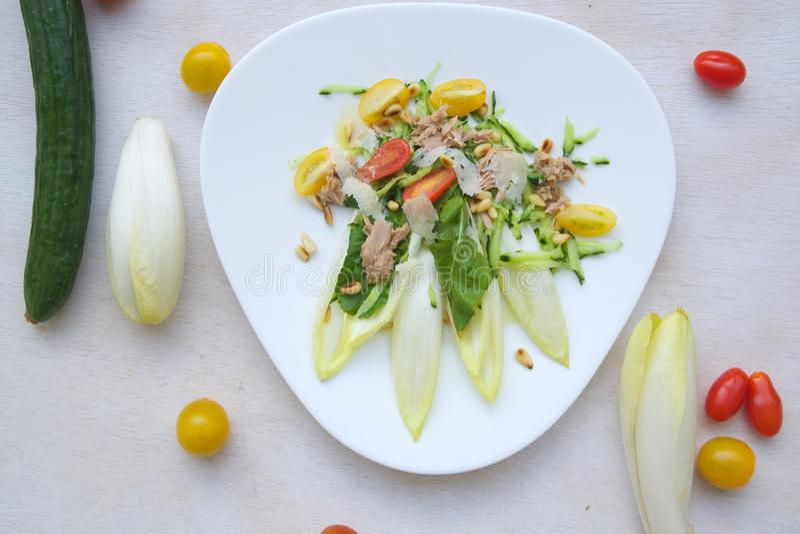 Salade d'hiver de vitamine images stock