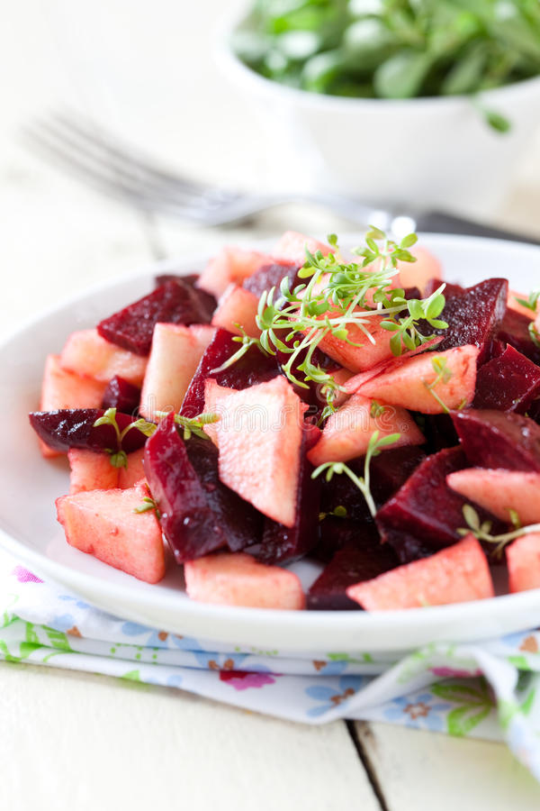 Salade de betteraves photo stock