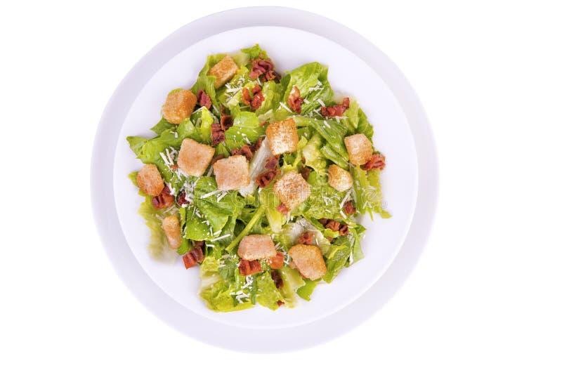 Salade de César fraîche photo libre de droits
