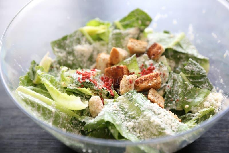 Salade de César, nourriture saine images libres de droits