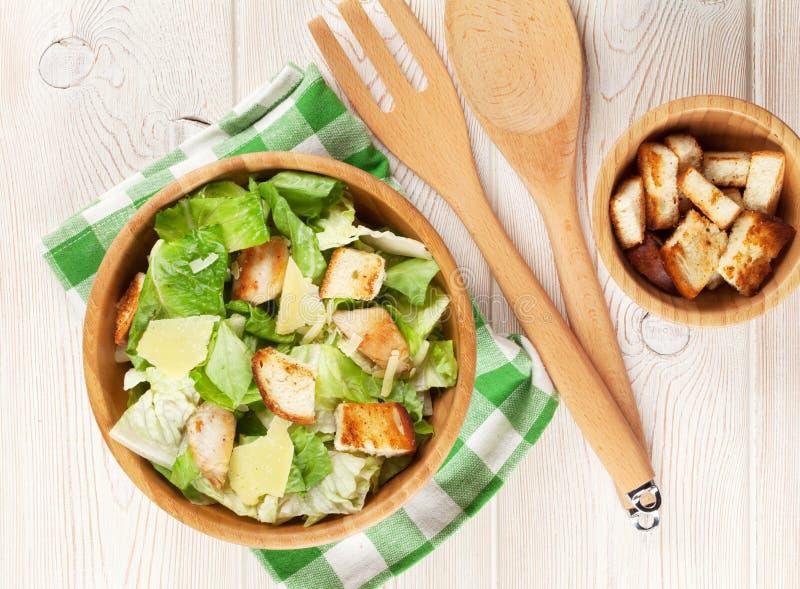 Salade de César saine fraîche photos libres de droits