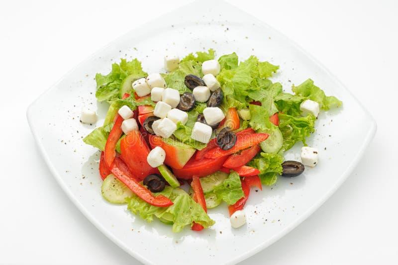Salade de César très savoureuse photo libre de droits