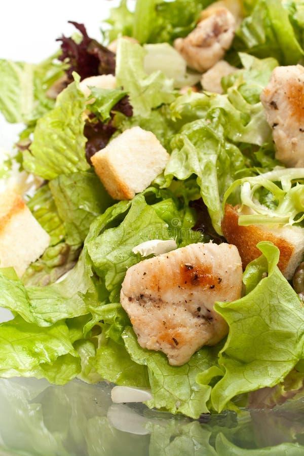 salade de César traditionnelle photo stock