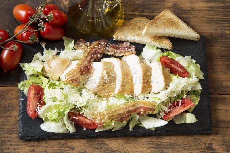 Salade de C?sar images stock
