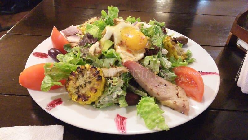 Salade de C?sar d?licieuse images libres de droits