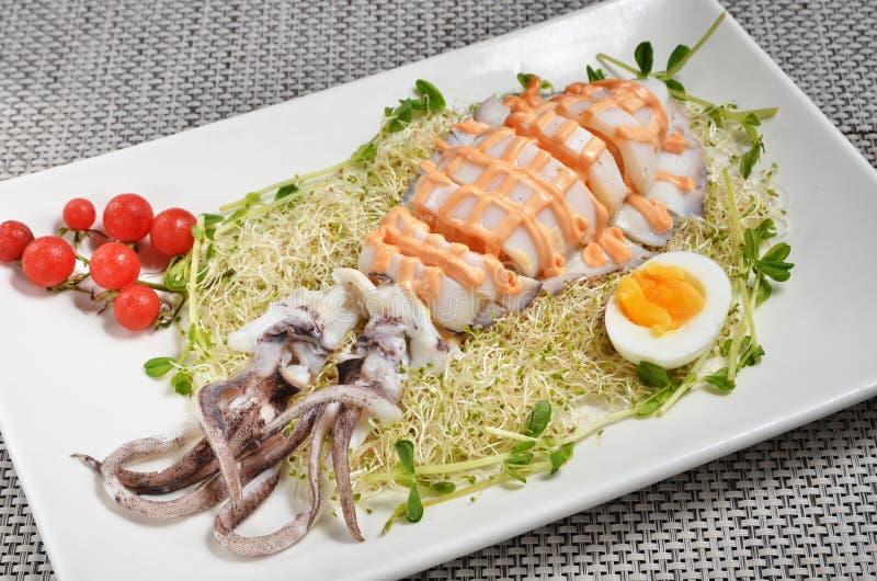 Download Salade De Calmar De Récif De Bigfin Photo stock - Image du oeuf, mollusque: 56485142