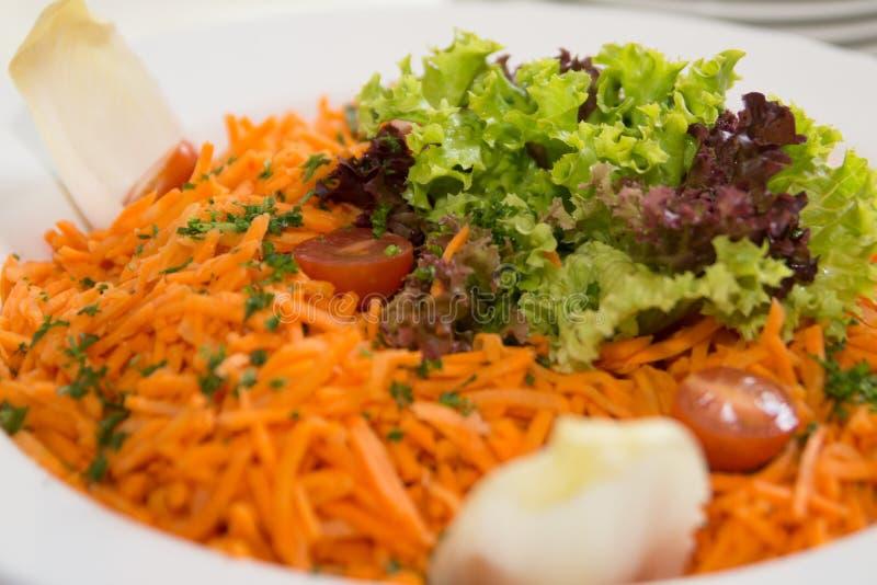 Salade de carotte photo libre de droits