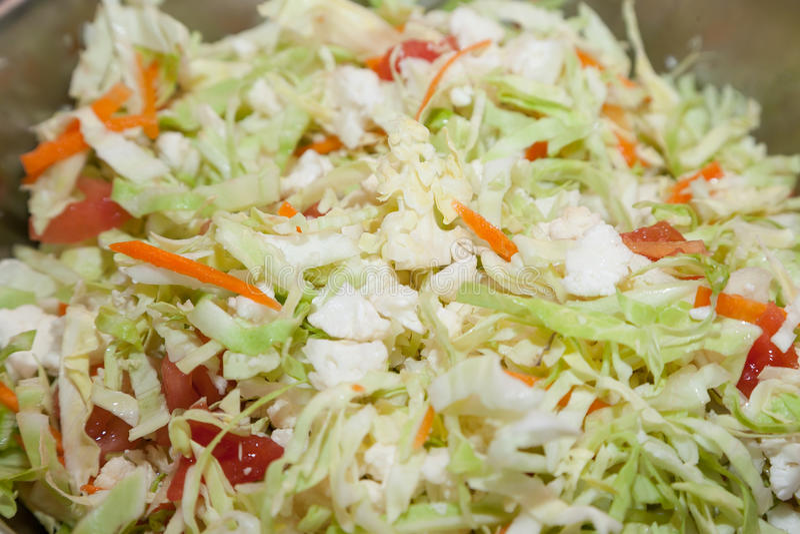 Download Salade de choux fraîche image stock. Image du préparez - 56481699