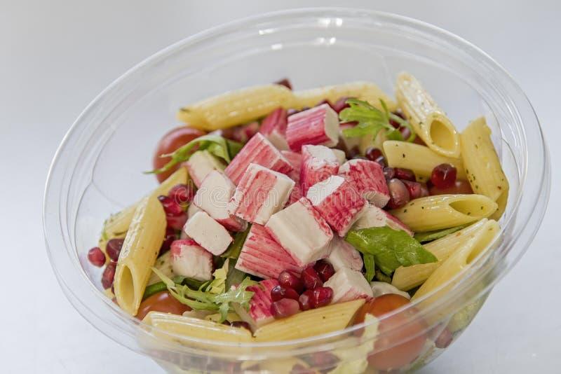 Salade de crabe photo libre de droits