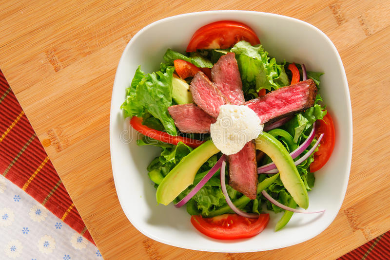 Salade de dîner images libres de droits