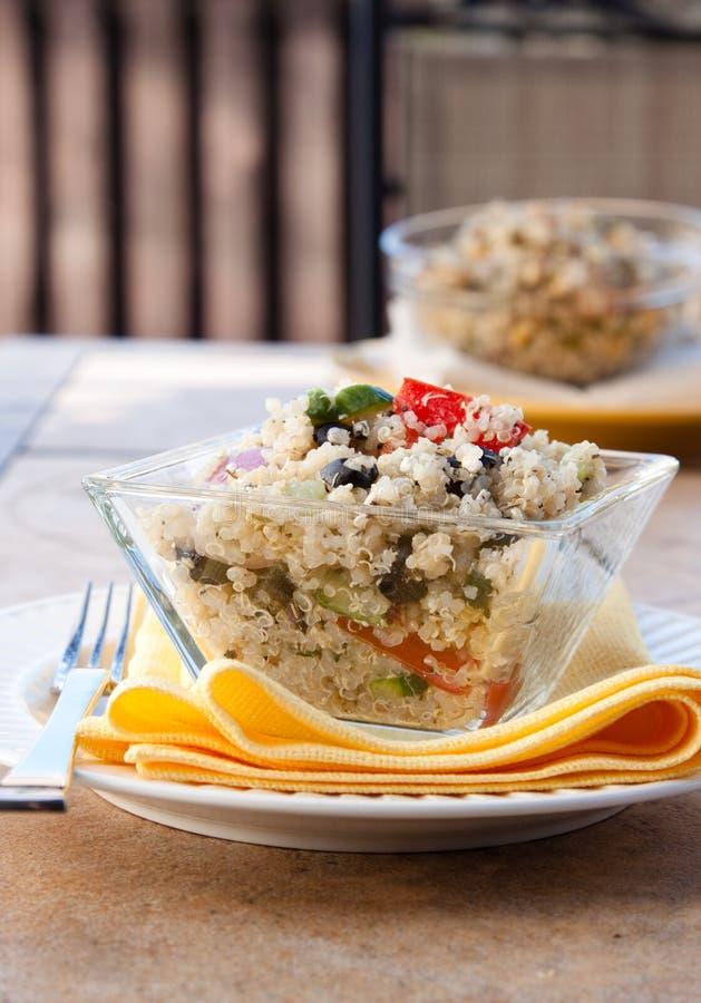 Salade de feta de quinoa images libres de droits