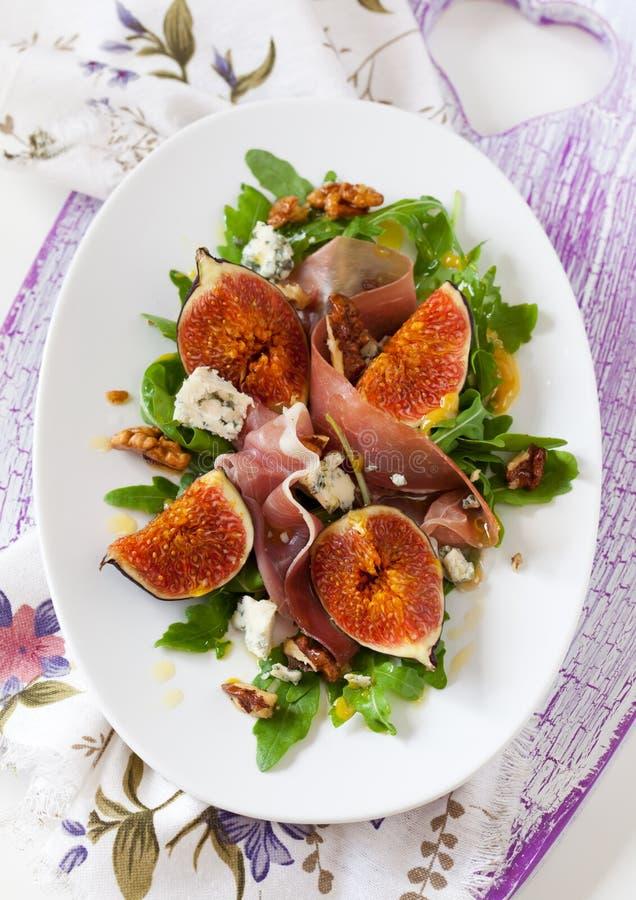 Salade de figue image stock