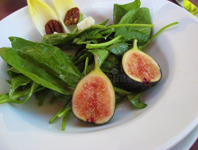 Salade de figue photographie stock