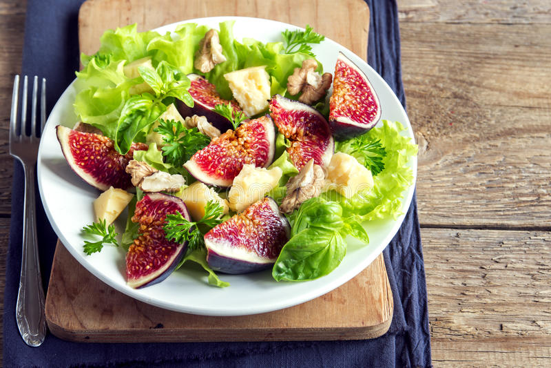 Salade de figue photo libre de droits