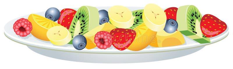 Salade de fruits illustration libre de droits