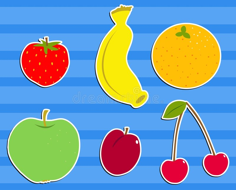 Salade de fruits illustration de vecteur