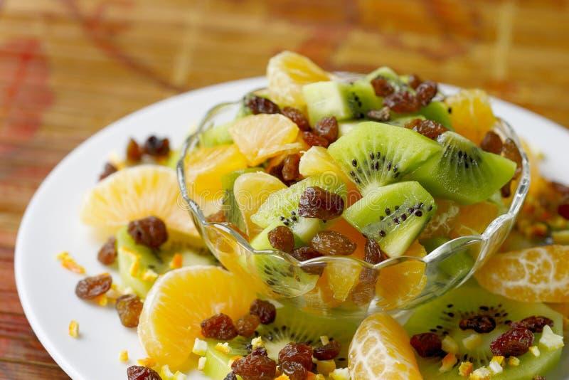 Salade de fruits fraîche. image libre de droits