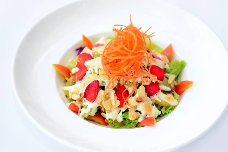 Salade de fruits mélangée image stock
