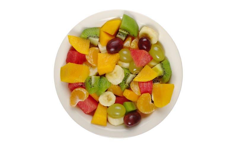 Salade de fruits tropicale photographie stock libre de droits