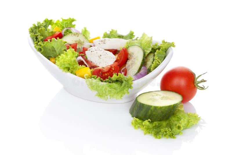 Salade de légume frais. image stock