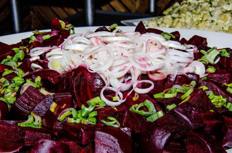 Salade de légume de ressort photographie stock libre de droits