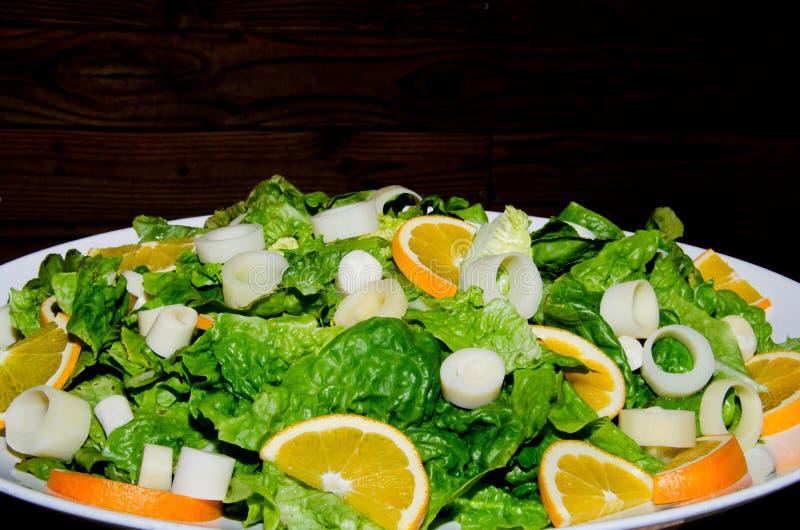 Salade de légume de ressort image stock