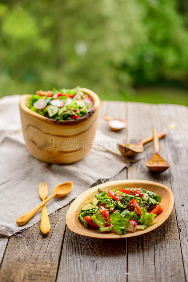 Salade de légumes frais photos libres de droits