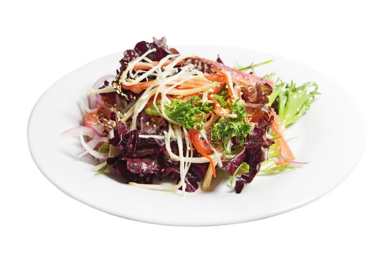 Salade de laitue d'endive images stock