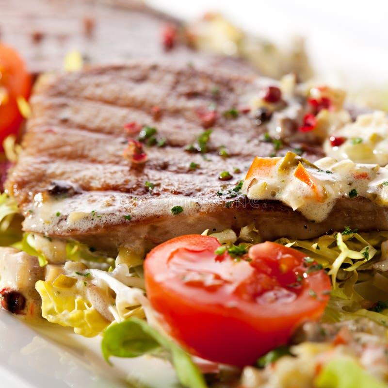 Salade de langue de boeuf photographie stock libre de droits