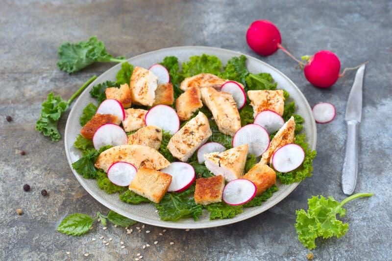 Salade de miette de pain photos libres de droits