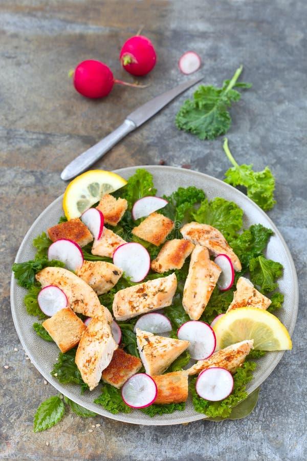 Salade de miette de pain photo stock