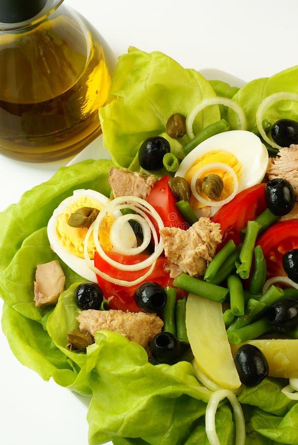 Salade de Nicoise images libres de droits