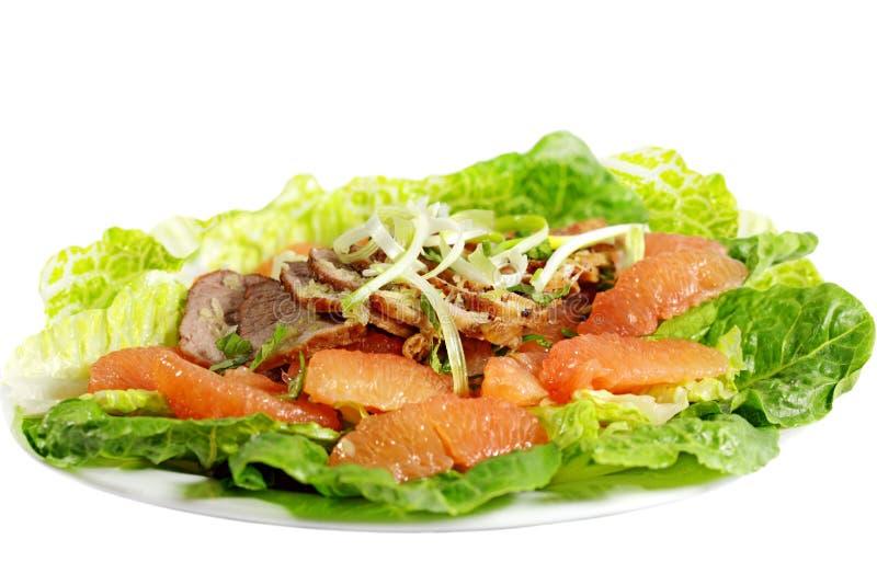 Salade de pamplemousse photographie stock libre de droits