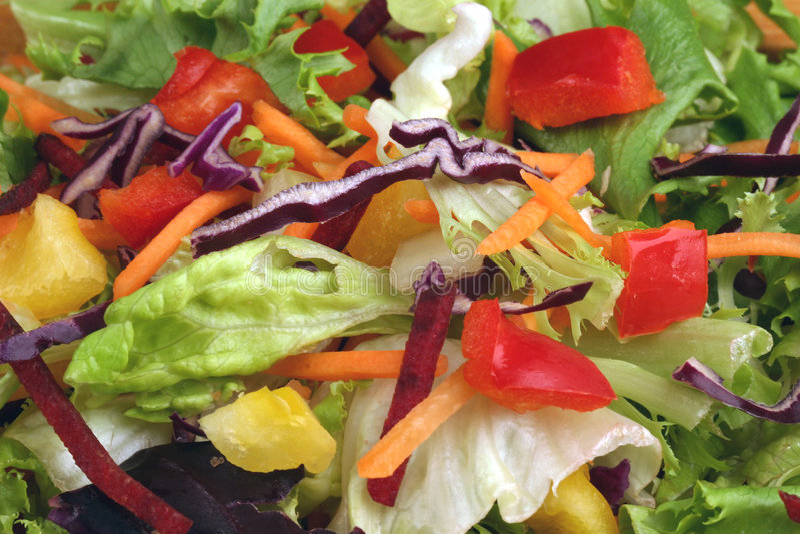 Salade de poivre images libres de droits