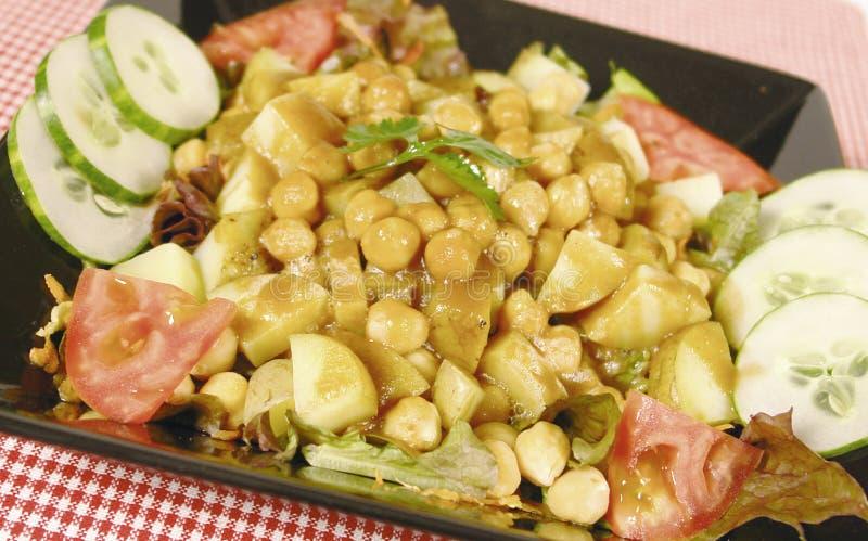 Salade de pomme de terre photo stock
