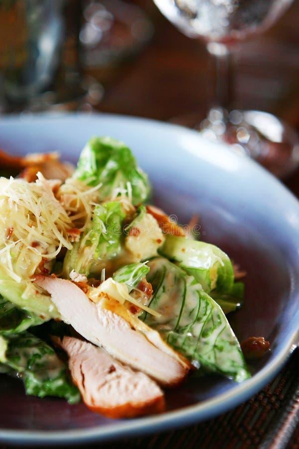 Salade de poulet images stock