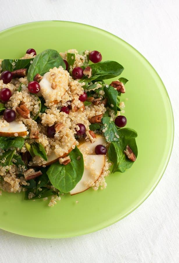 Salade de quinoa photographie stock