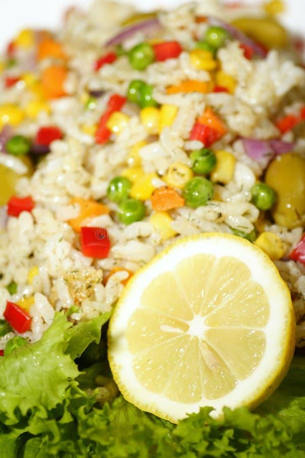 Salade de riz images libres de droits