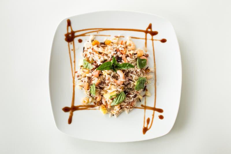 Salade de riz photos stock