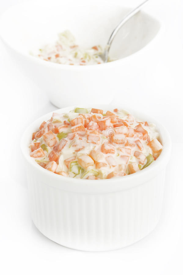 Salade de salade de choux images libres de droits