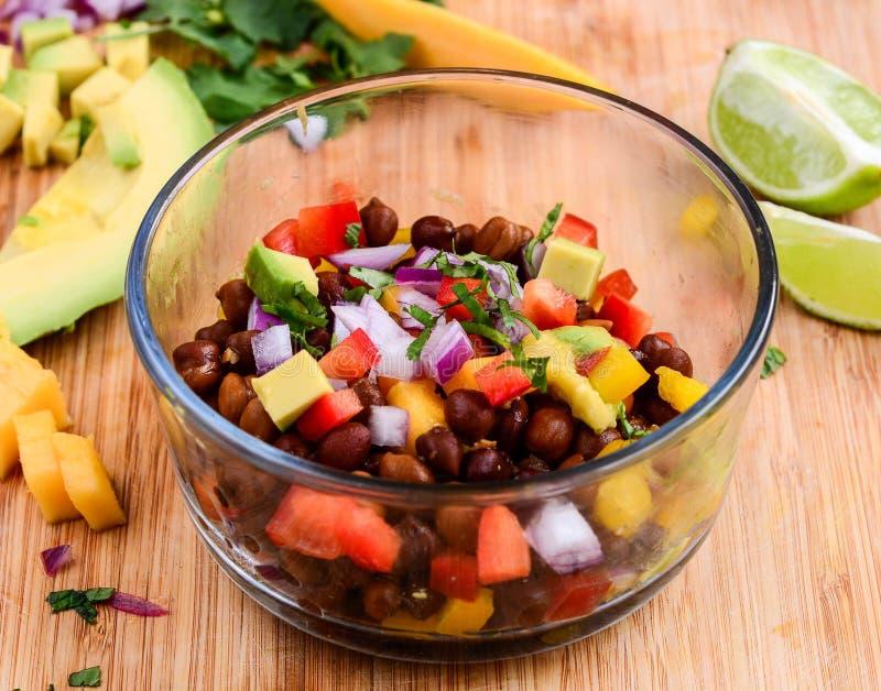 Salade de Salsa images libres de droits