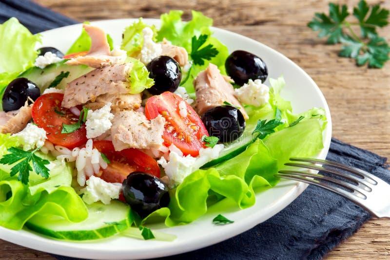 Salade de thon photos stock