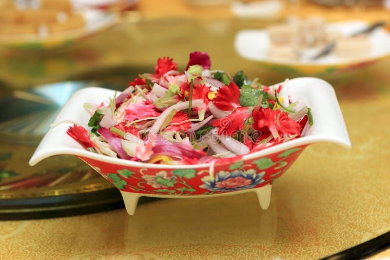 Salade de végétarien de la Chine photo libre de droits