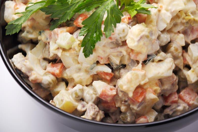 Salade de viande photos libres de droits