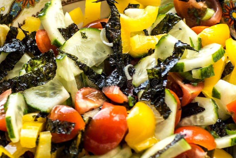 Salade de vitamine des l?gumes photographie stock libre de droits