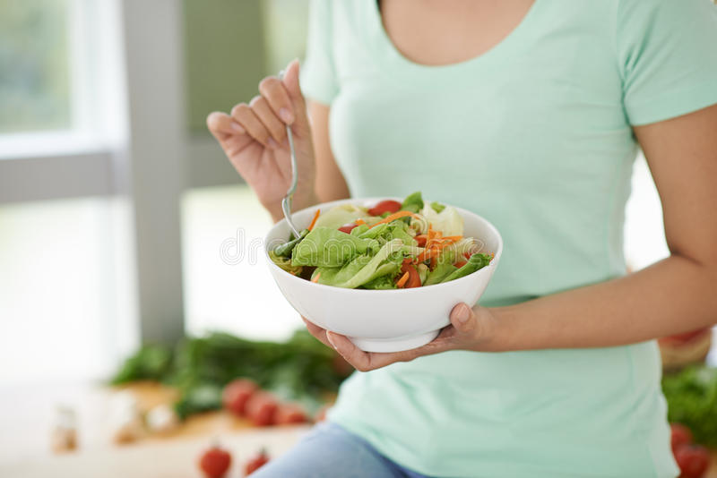 Salade de Vitaminous photos stock