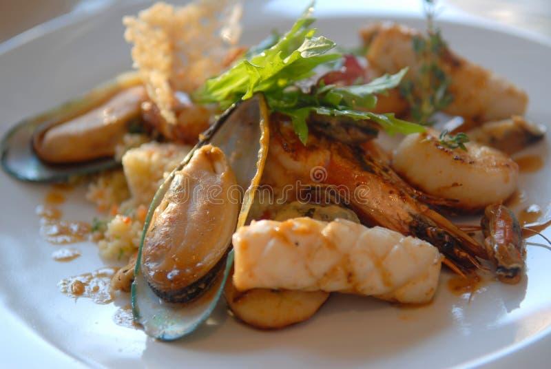 Salade des fruits de mer image libre de droits