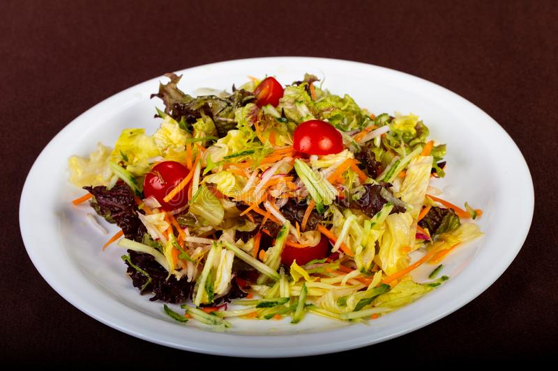 Salade diététique de vegan photographie stock